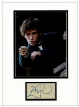 Eddie Redmayne Autograph Signed Display - Fantastic Beasts